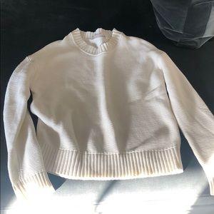White everlane sweater